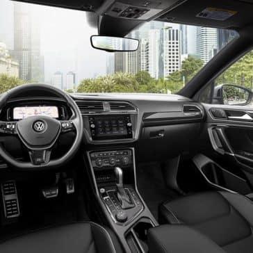 2020 VW Tiguan Dash