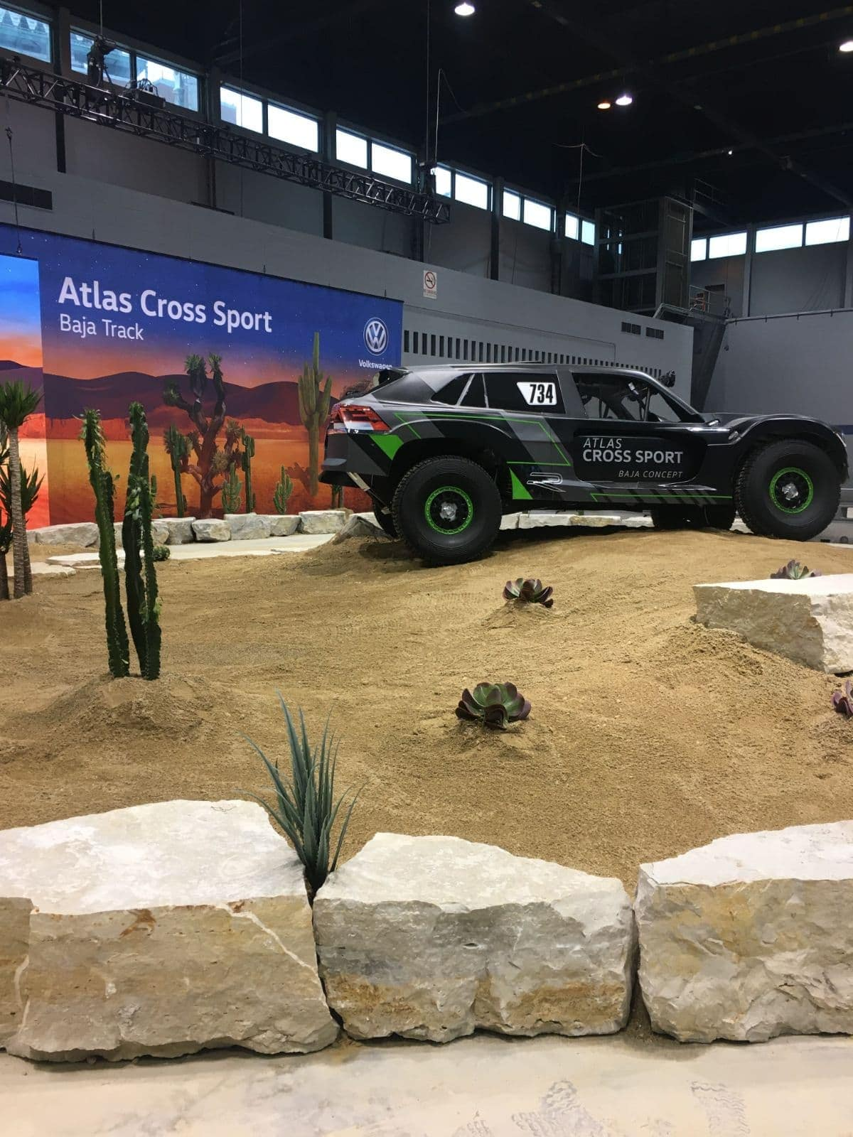 Atlas Cross Sport Baja Concept