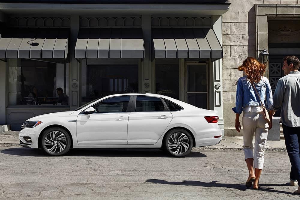 2020 VW Jetta Parked