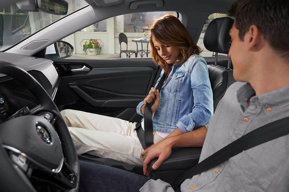 2020 VW Jetta Seatbelts