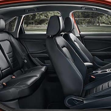 2020 VW Jetta Seating