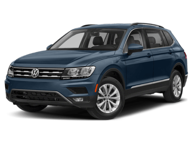 2019 Volkswagen Tiguan in blue