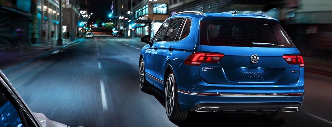 2020 Volkswagen Tiguan rear view