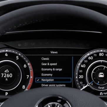 2018 Volkswagen Tiguan Gauges
