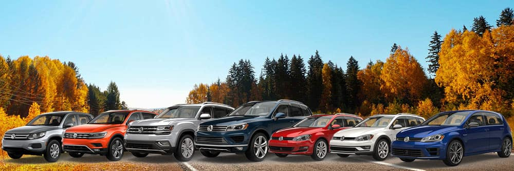 Volkswagen AWD 4Motion Lineup
