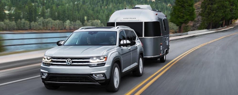 2019 VW Atlas Towing a Trailer