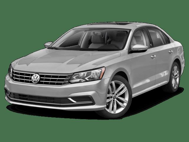 2019 Volkswagen Passat in silver