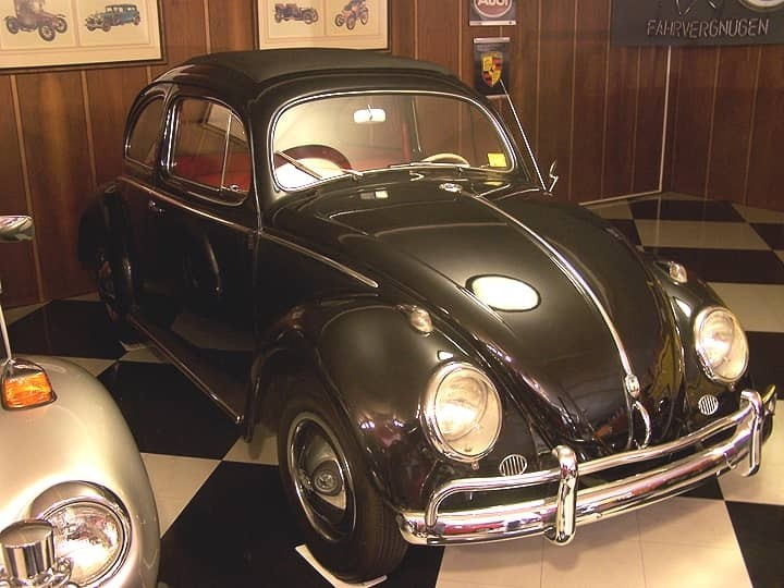 1956 BEETLE RAGTOP SEDAN