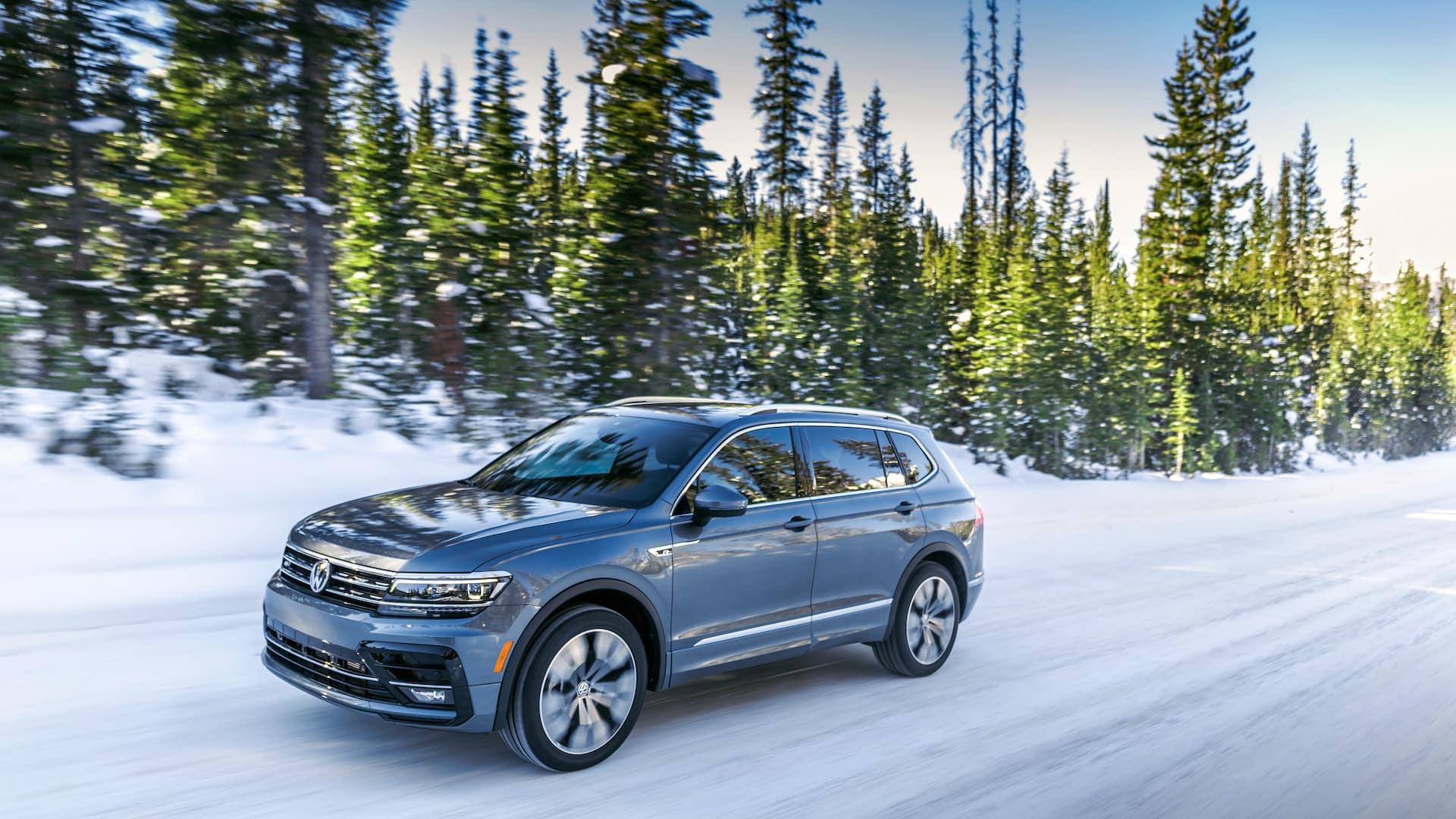 Winter photo of the 2020 Volkswagen Tiguan