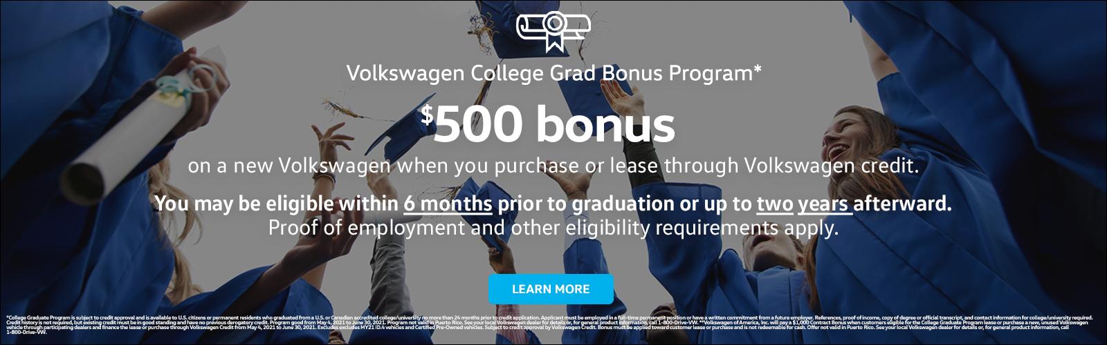 NER College Grad_500 dollar