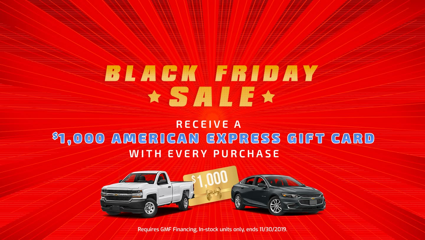 Bennett Chevy Black Friday