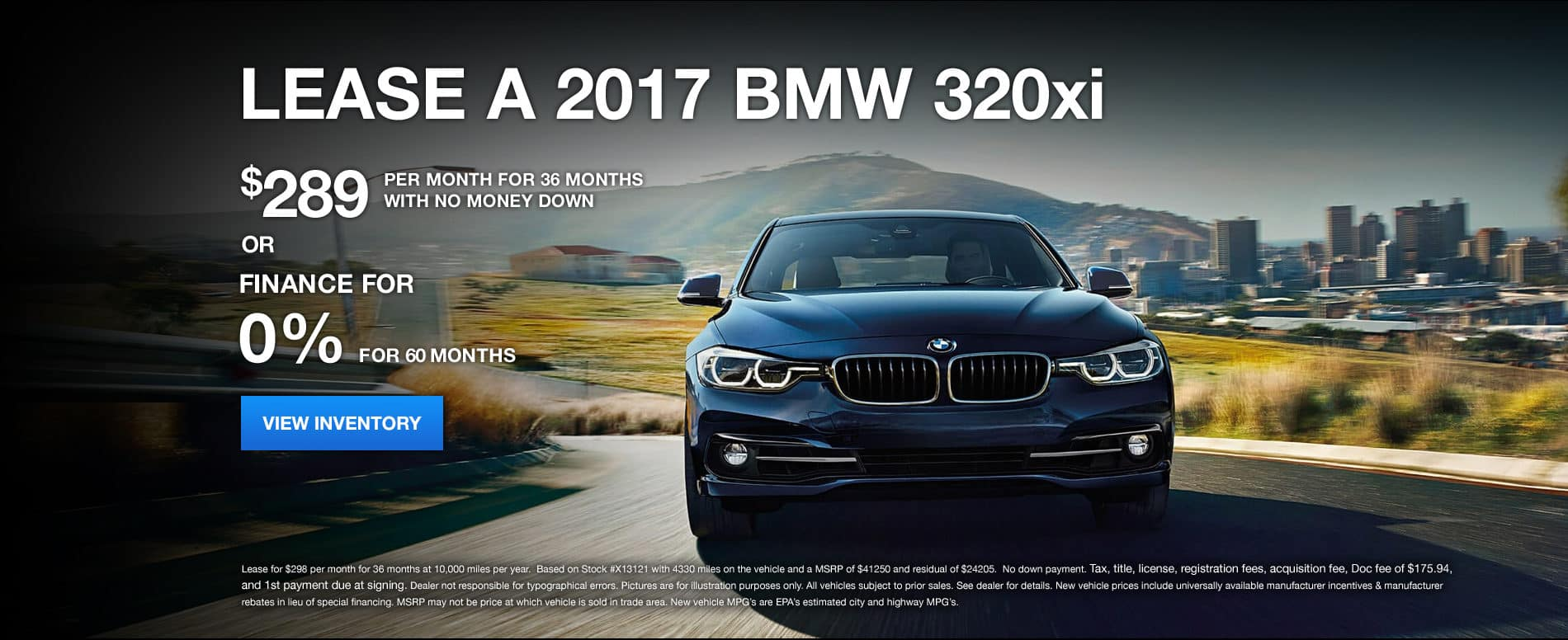 320xi January Offer Bill Jacobs BMW