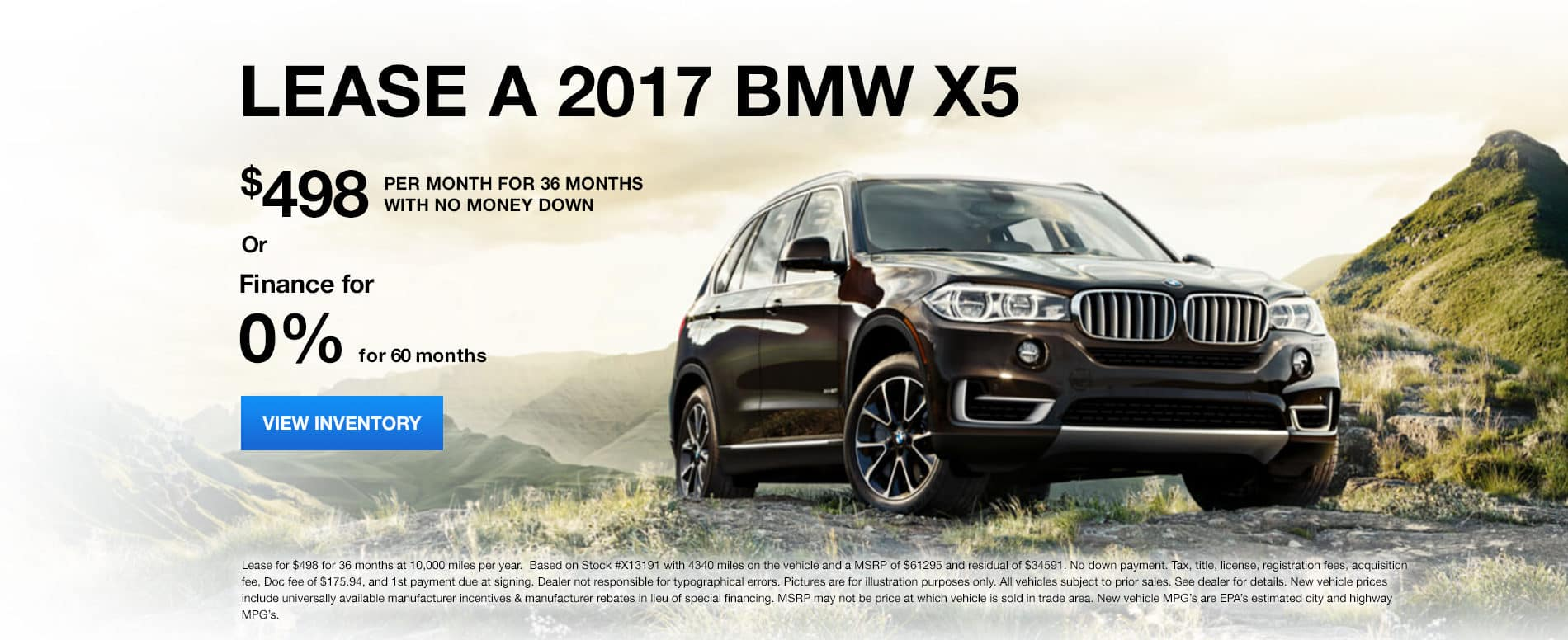 X5 January Offer Bill Jacobs BMW