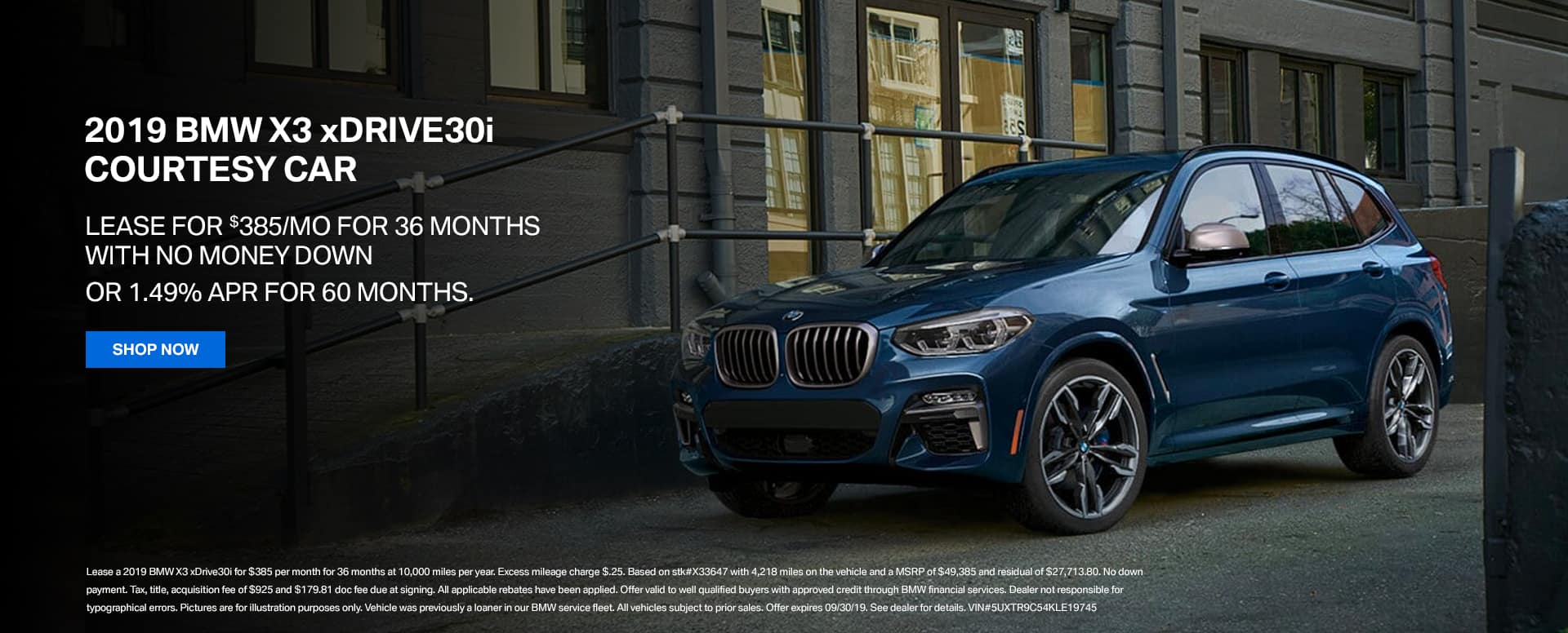 Monthly Specials Bill Jacobs Bmw
