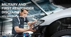 BMW Military Discount Parts & Service