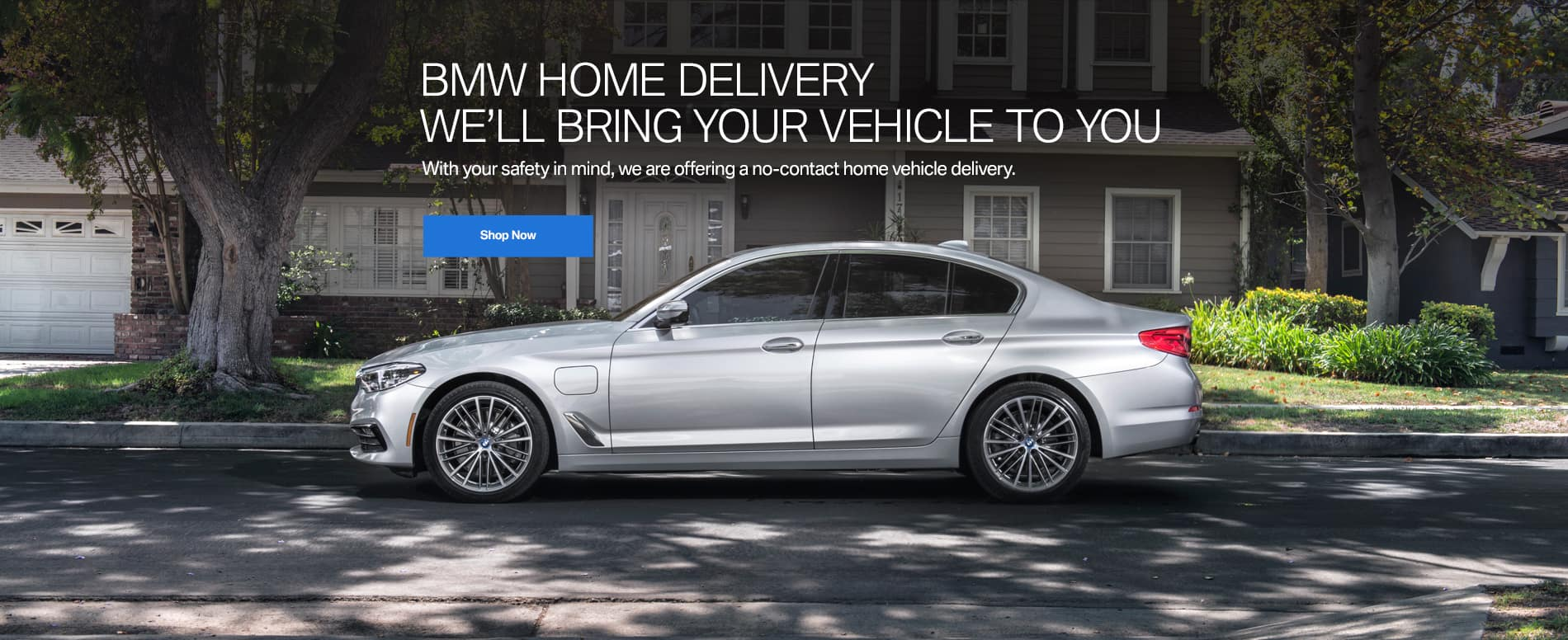 Bill Jacobs BMW Contactless Delivery