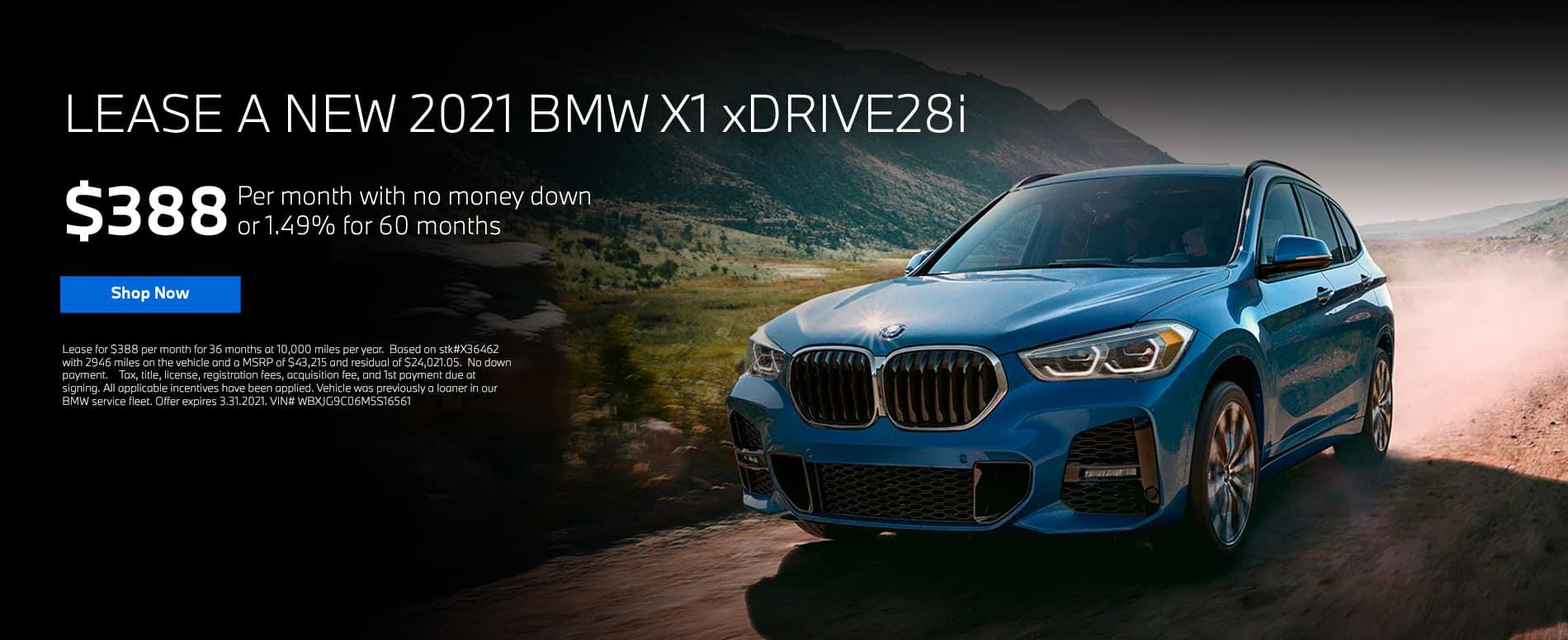 Bill Jacbos BMW X1 Lease