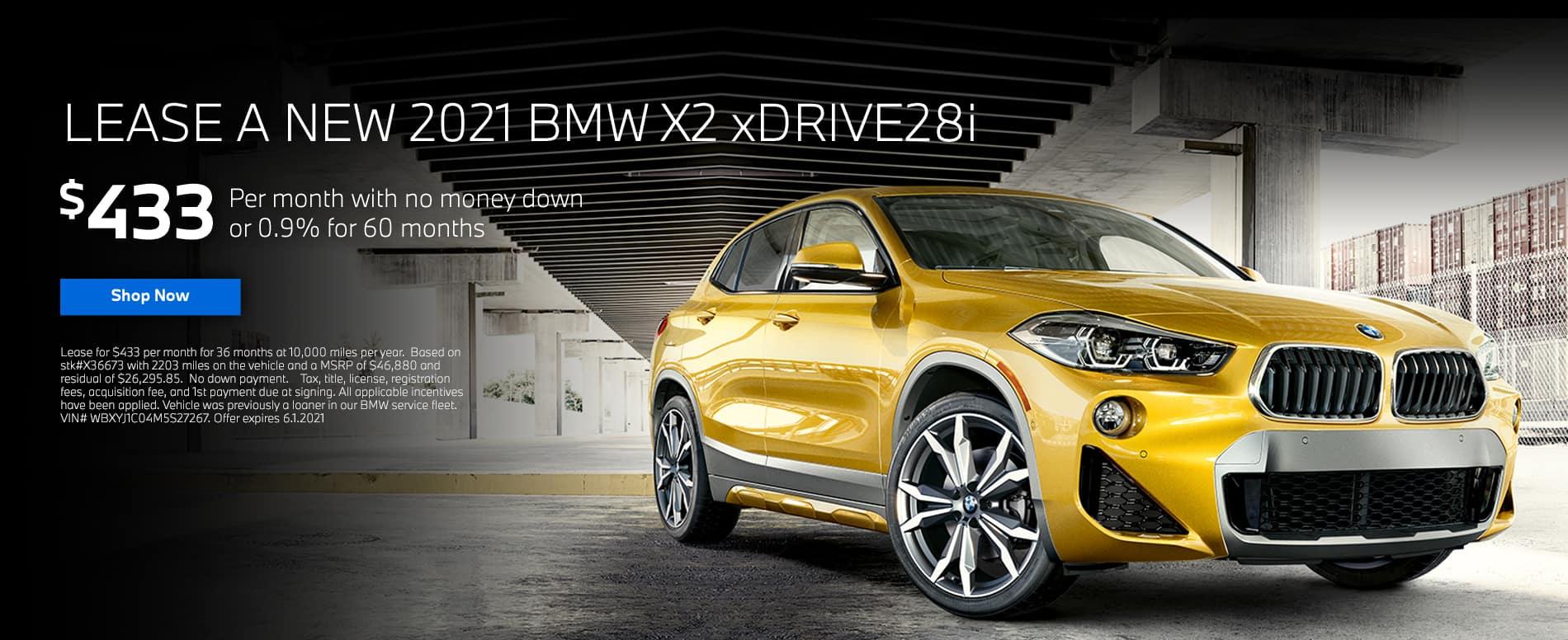Bill Jacobs BMW X2