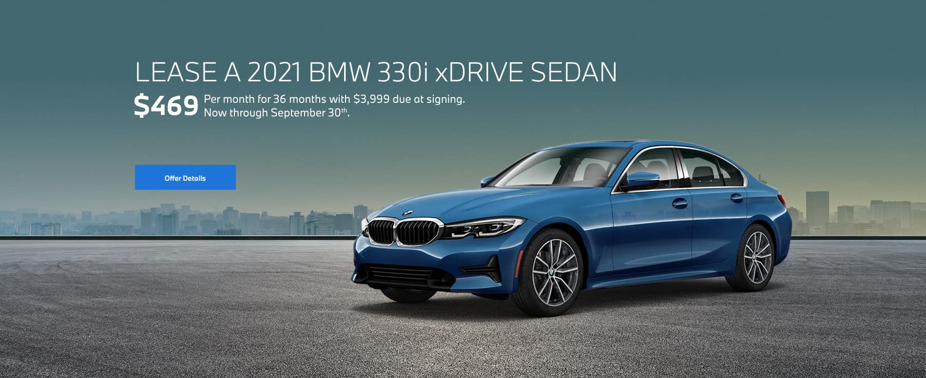 3 Series Lease Special