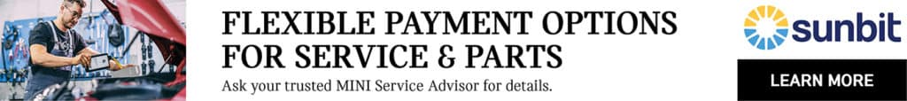 Service Financing at Bill Jacobs MINI