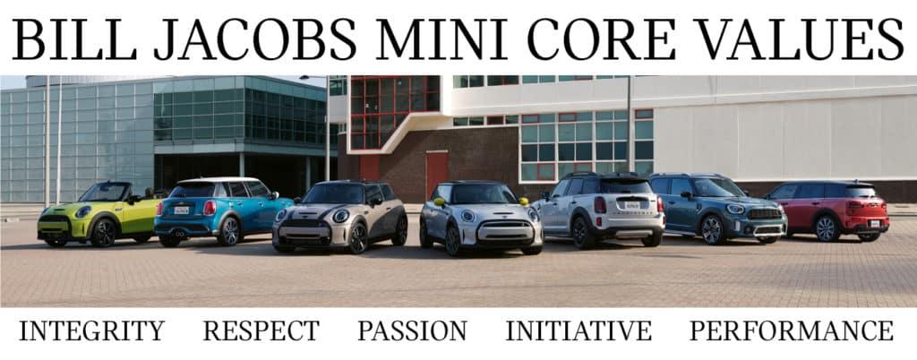 Bill Jacobs MINI Core Values