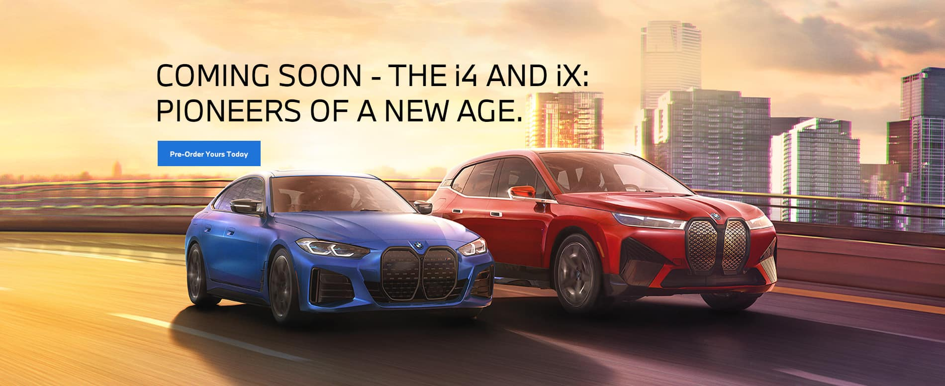 BMW i4 and BMW iX - Pioneers of a new age