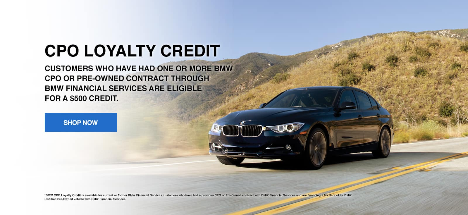 CPO Loyalty Program BMW West Chester