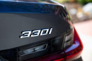 BMW 330i Exterior Features