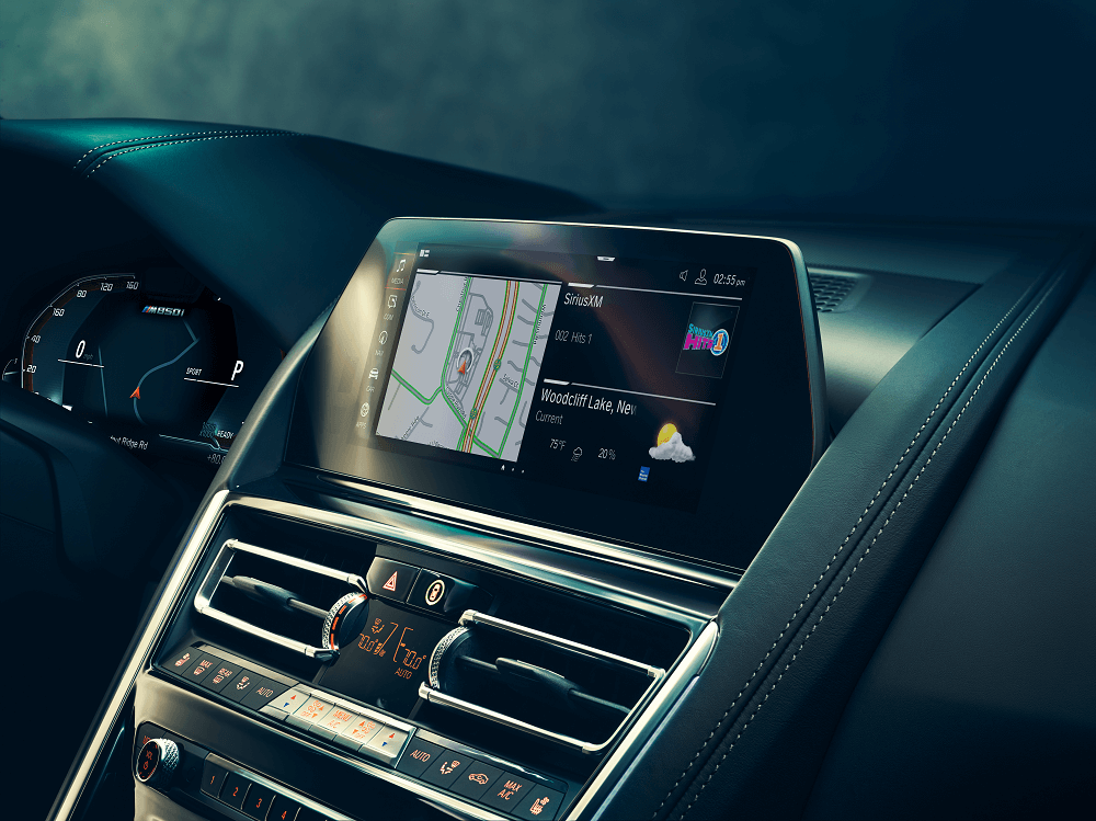 BMW 8 Series Technology Features