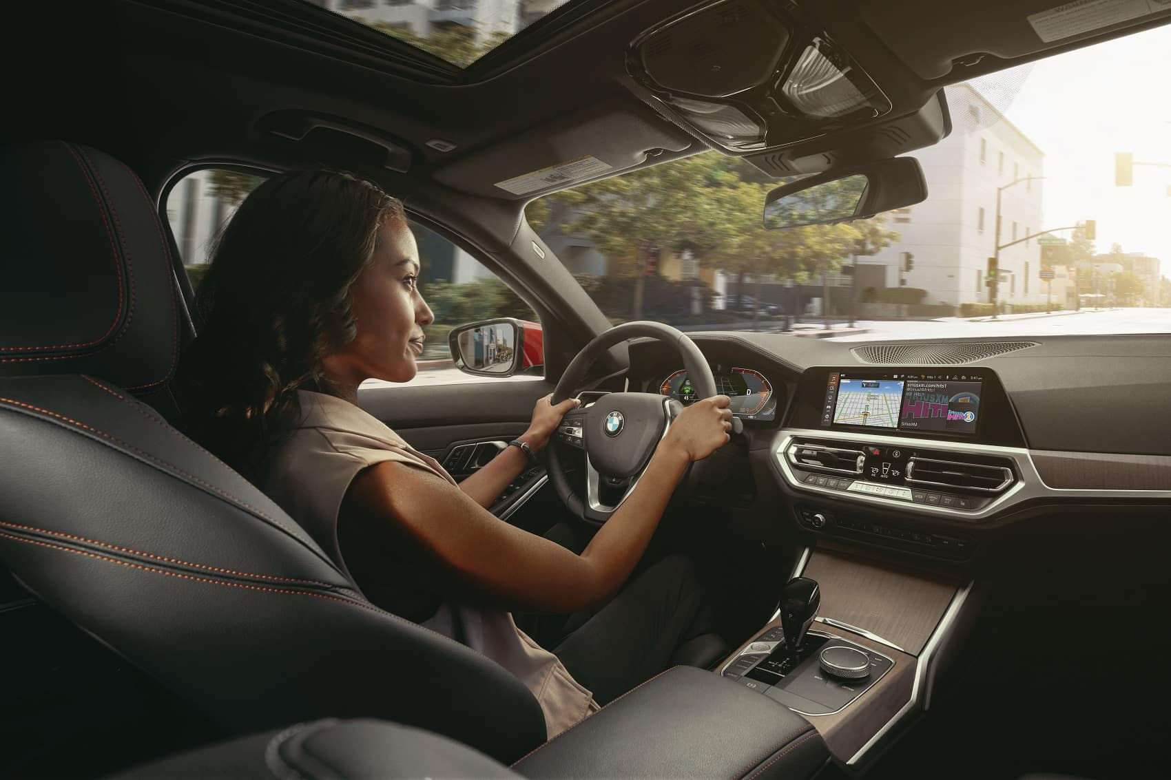 BMW 3 Series Inside