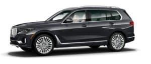 BMW X7 Sideview
