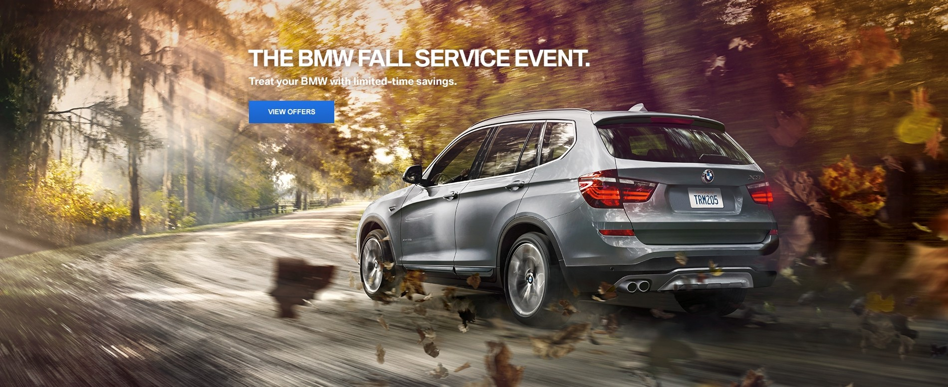 Required- BMW Fall Service 8.21-10.31
