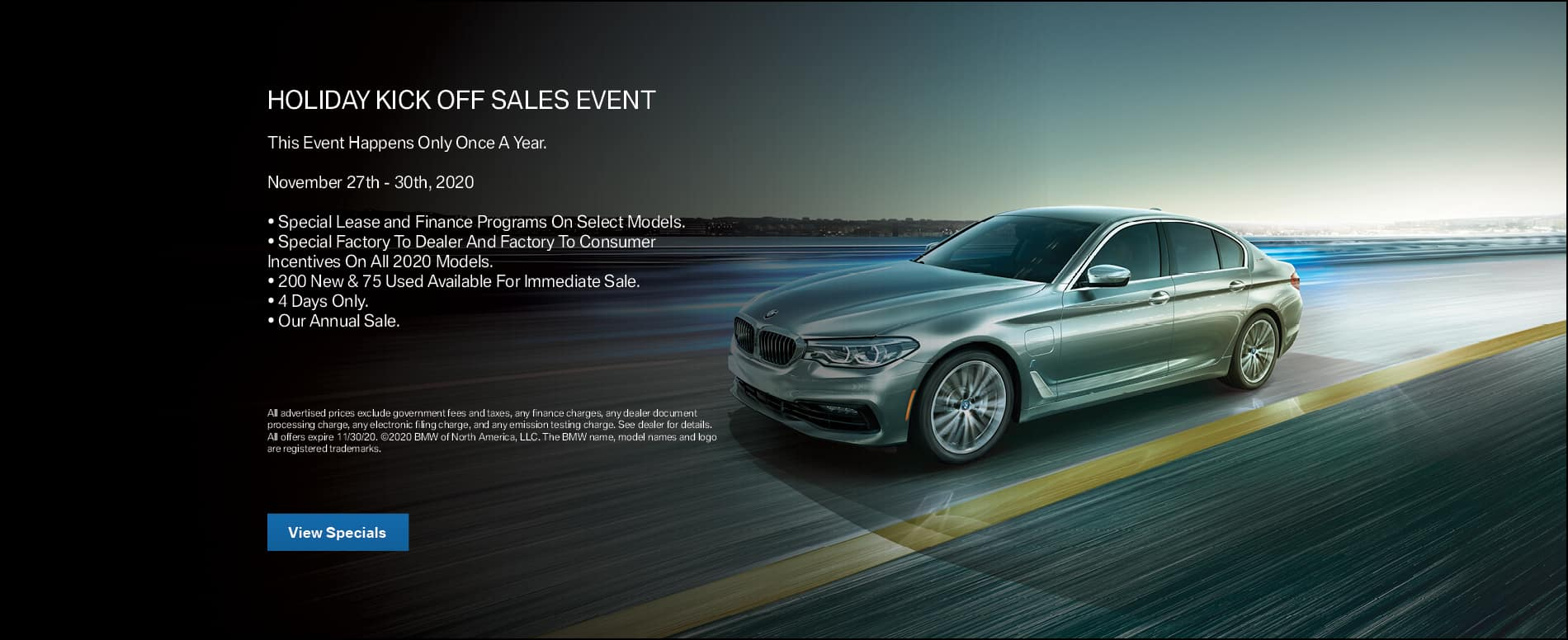 Holiday Sales Kick Off Event