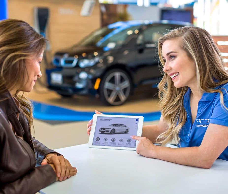BMW Genius Program at dealership