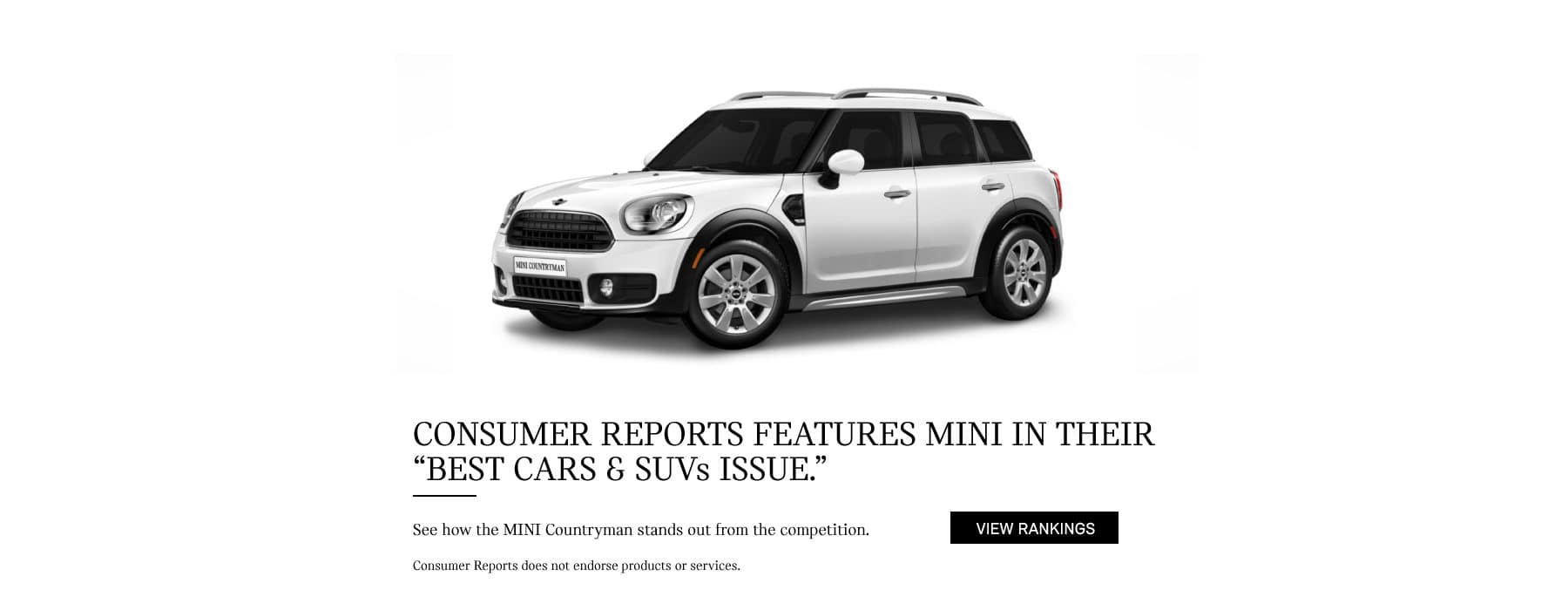 MINI Cooper Countryman Consumer Report