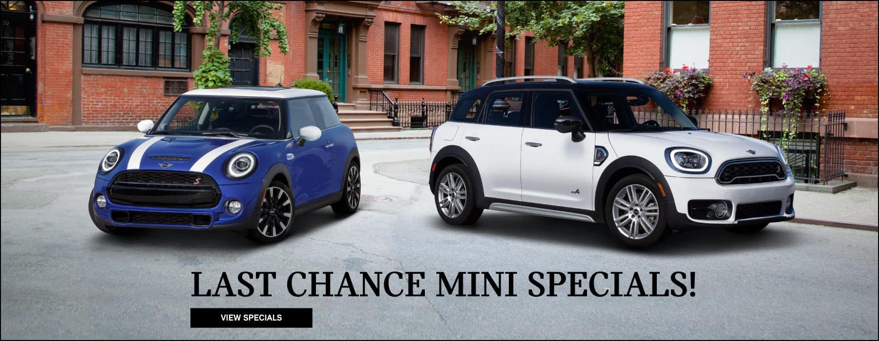 Last Chance MINI Specials