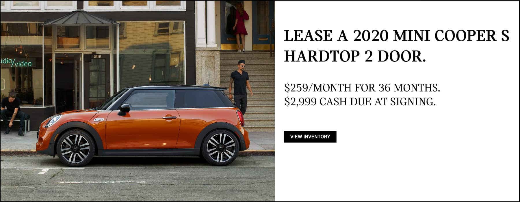 Lease a 2020 MINI Cooper S Hardtop for $259/mo