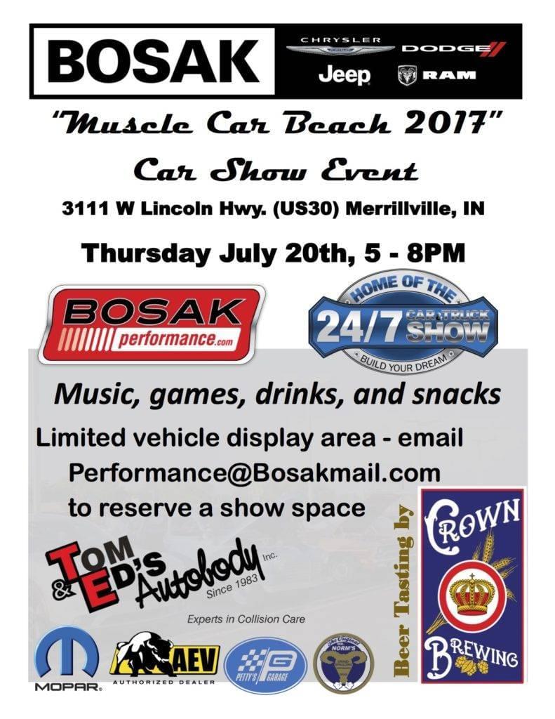 Upcoming Events Bosak Motors Cdjr