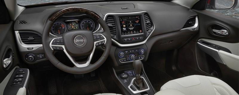 2016 Jeep Cherokee Interior