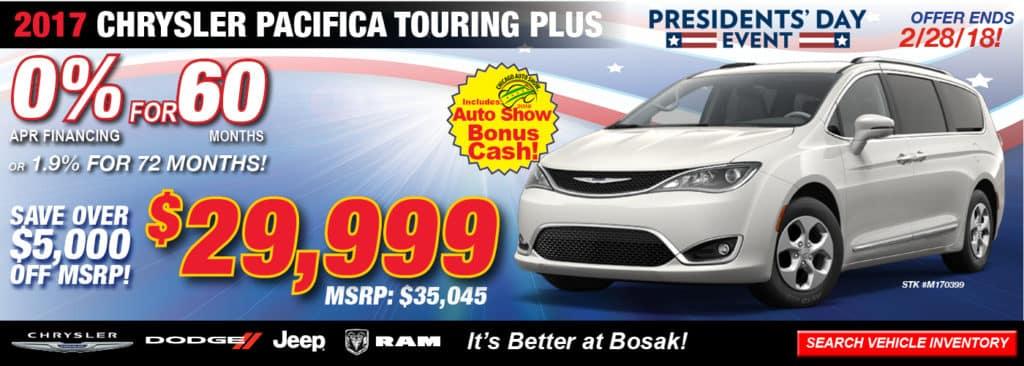 Manager S Monthly Specials Bosak Motors Cdjr
