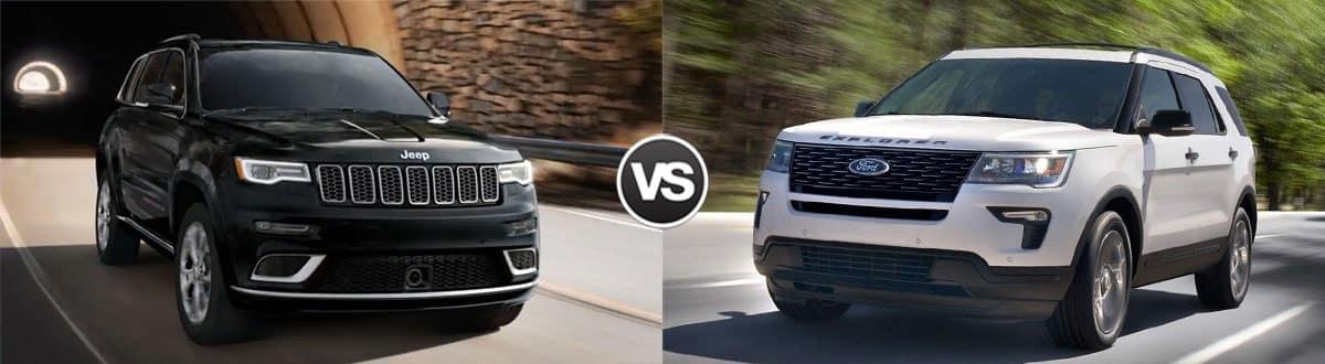 2019 Jeep Grand Cherokee vs 2019 Ford Explorer