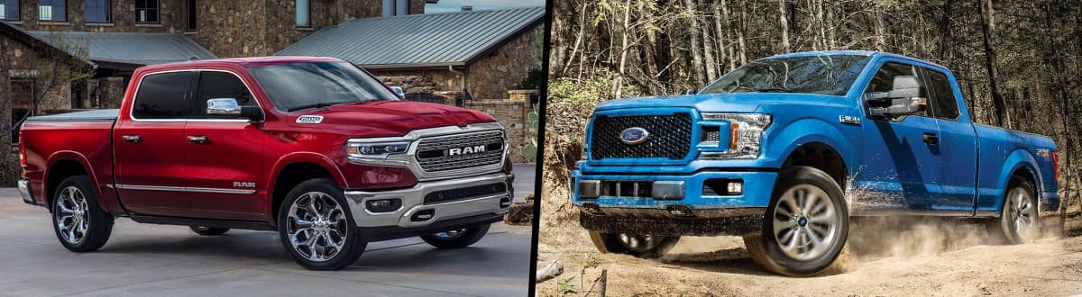 2019 Ram 1500 vs 2019 Ford F-150