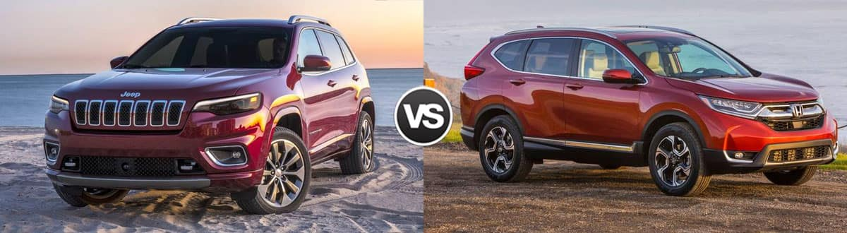 2019 Jeep Cherokee vs 2019 Honda CR-V