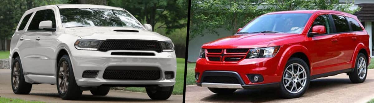 2019 Dodge Durango vs 2019 Dodge Journey