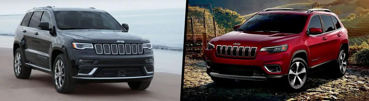 Jeep Cherokee Vs Grand Cherokee >> 2019 Jeep Grand Cherokee Vs 2019 Jeep Cherokee Comparison