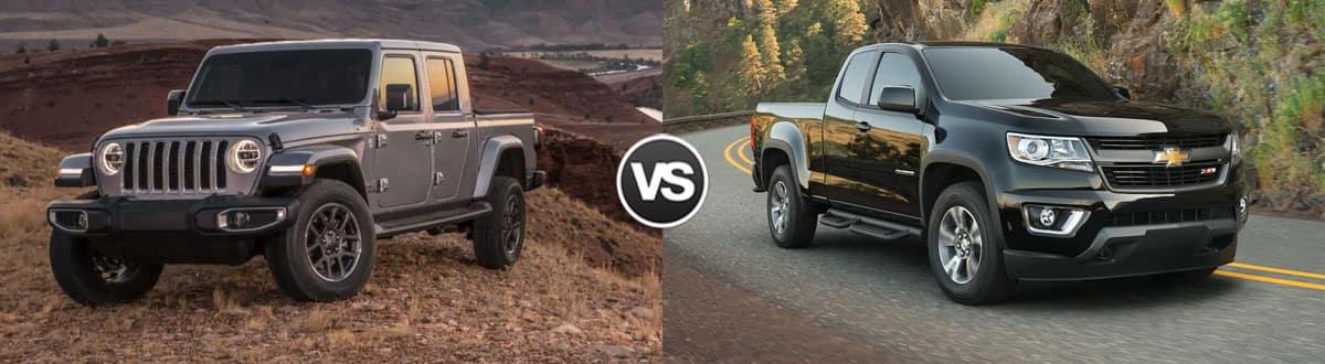 2020 Jeep Gladiator vs 2019 Chevy Colorado