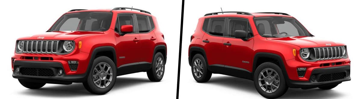 2019 Jeep Renegade Latitude vs 2019 Jeep Renegade Sport