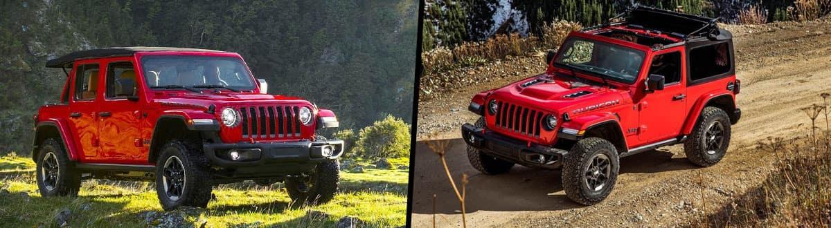 2019 Jeep Wrangler vs 2018 Jeep Wrangler