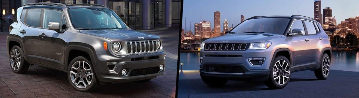 2019 Jeep Renegade vs 2019 Jeep Compass