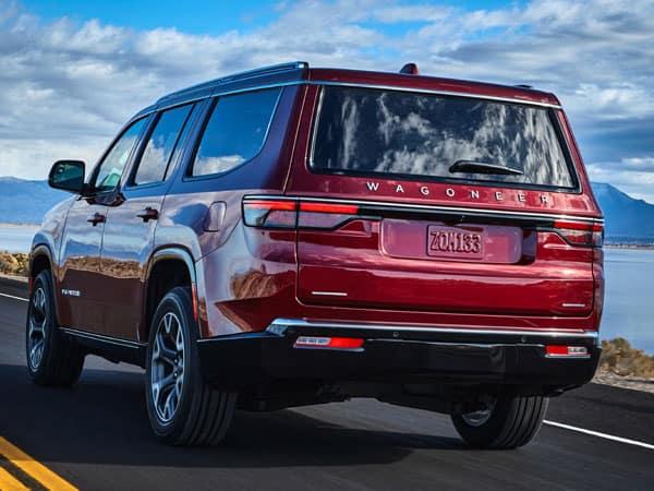 2022 Jeep Wagoneer Rear Angle